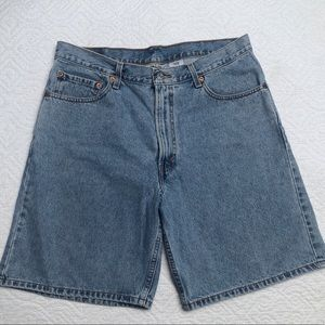 Levi's 550 Relaxed Jean Shorts Size 36